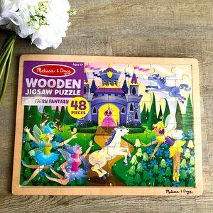New Melissa & Doug Fairy Fantasy 48 Pieces Puzzle